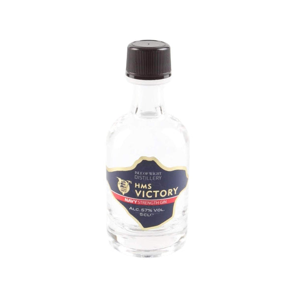 Alkohol Miniaturen:Wight HMS Victory Navy Strength Gin Miniature - 50ml,Miniature Drinks