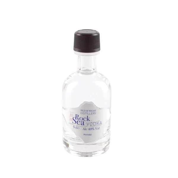 Alkohol Miniaturen:Wight Rock Sea Vodka Miniature - 50ml,Miniature Drinks