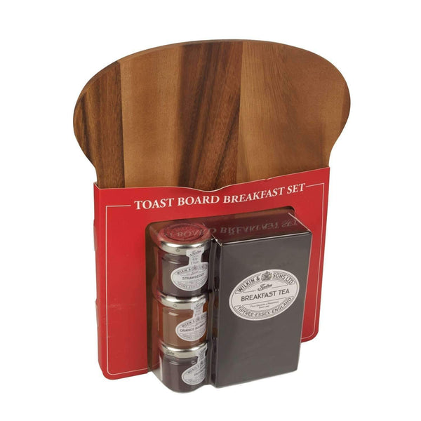 Alkohol Miniaturen:Wilkin & Sons Tiptree Breakfast Toast Board Gift Set