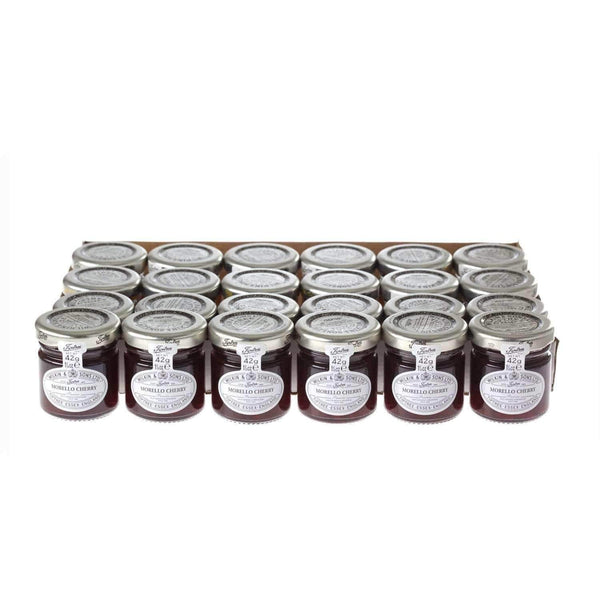Alkohol Miniaturen:Wilkin & Sons Tiptree Morello Cherry Preserve Mini Jar - 42g (24 Pack)