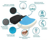 The Cushy Orthopedic Memory Foam Pillow