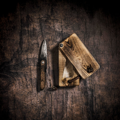 Boone's Lost Folder-1780s Pattern Friction Folder from the Blades that Shaped America Book