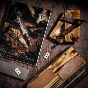 Blades that Shaped America Book Launch SPECIAL OFFER!!! (3 Item Deal-Book, Knife & Reptile Sharp Set)