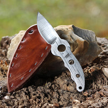 Load image into Gallery viewer, Whiskey Burr Neck Knife