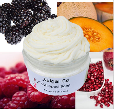Berry Fruit Scents Whip Soap | Salgal Co