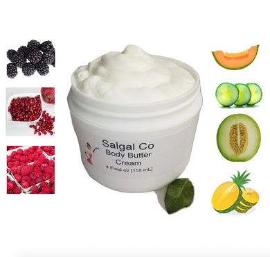 Berry and Fruit Body Cream