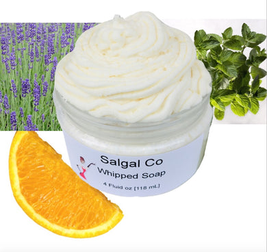 Essential Oil Scented Whip Soap | Salgal Co