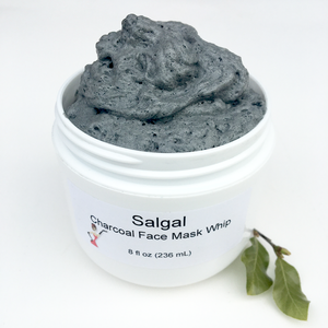 Charcoal Face Mask Whip | Salgal Co