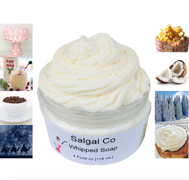 Whipped Creamy Soap Fall Winter Scents