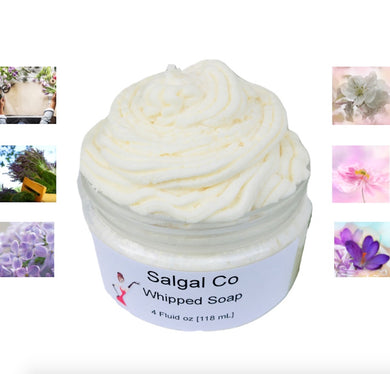 Floral Scents Whip Soap | Salgal Co
