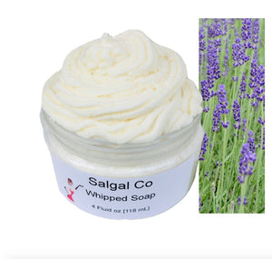 Lavender Whip Soap | Salgal Co