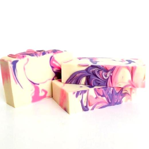 Red Berry Rhubarb Artisan Soap | Salgal Co