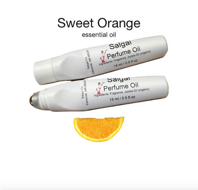Sweet Orange Natural Perfume | Salgal
