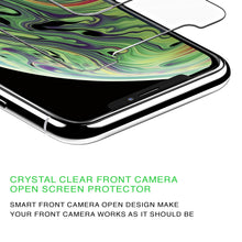 Load image into Gallery viewer, Vicious Teknology iPhone XS Max Screen Protector, 6.5 Inches - 3 Pack, with One Advanced Anti-Spy Privacy Tempered Glass, and Two High Clarified & 99% Touch Accurate Tempered Glass