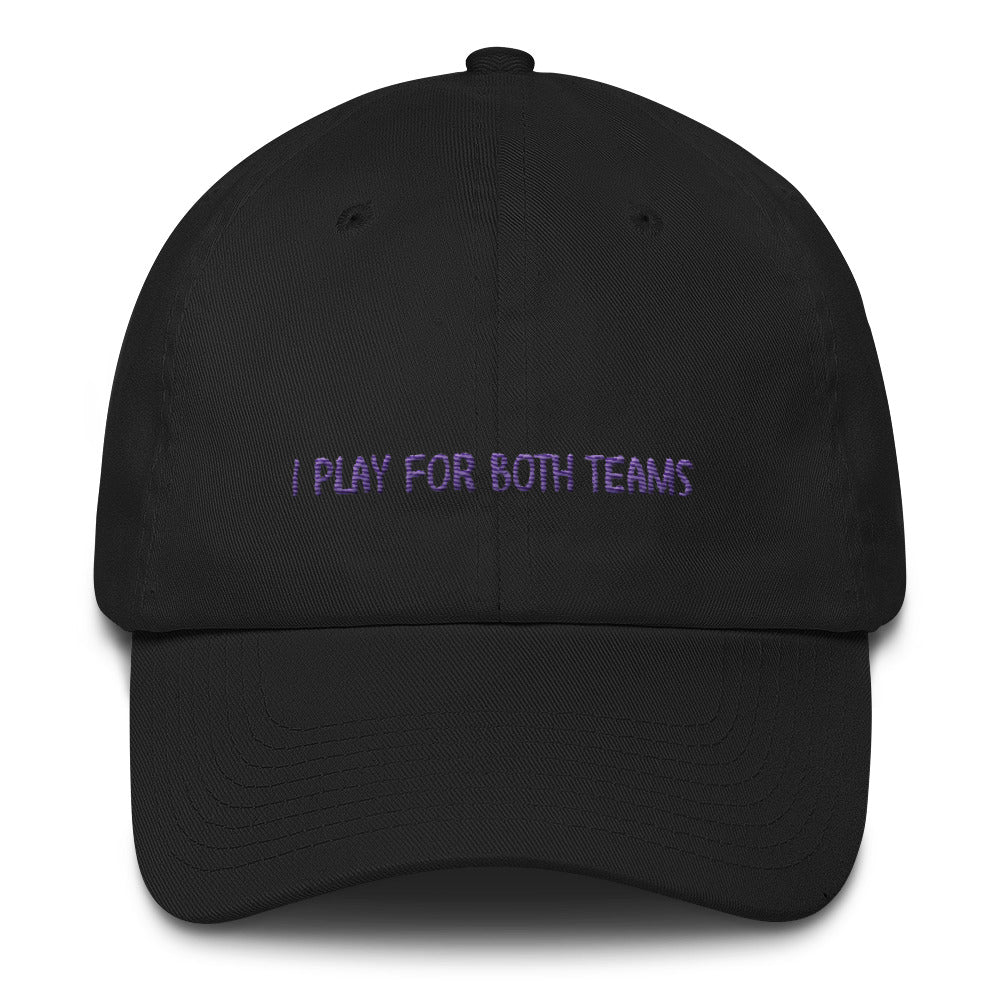 Play For Both Teams Hat