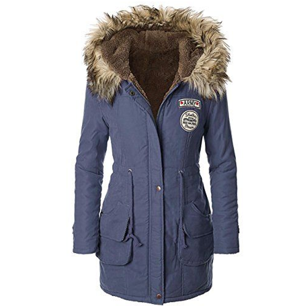 Women Winter Parka Jacket