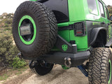 Defender Rear Bumper With Tire Carrier