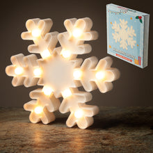 Load image into Gallery viewer, Snow flake LED Light