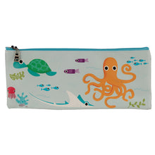 Load image into Gallery viewer, Sea Life Friends Pattern Pencil Case