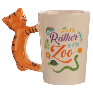 Tiger Themed Mug