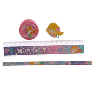 Multi-Buy Offer  - 5 Sets of Cute Mermaid Stationery Set