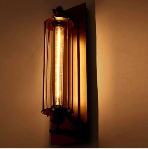 Steampunk wall lamp