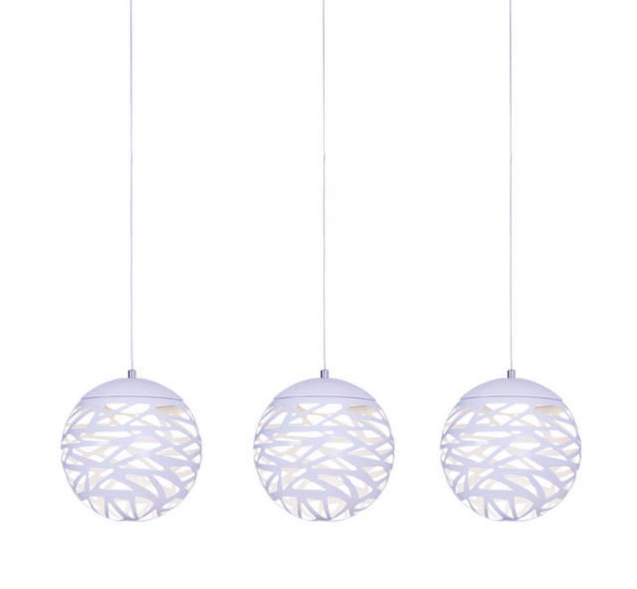Spherical LED pendant