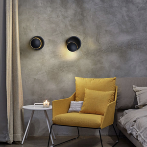 Mavesan rotatable wall sconce