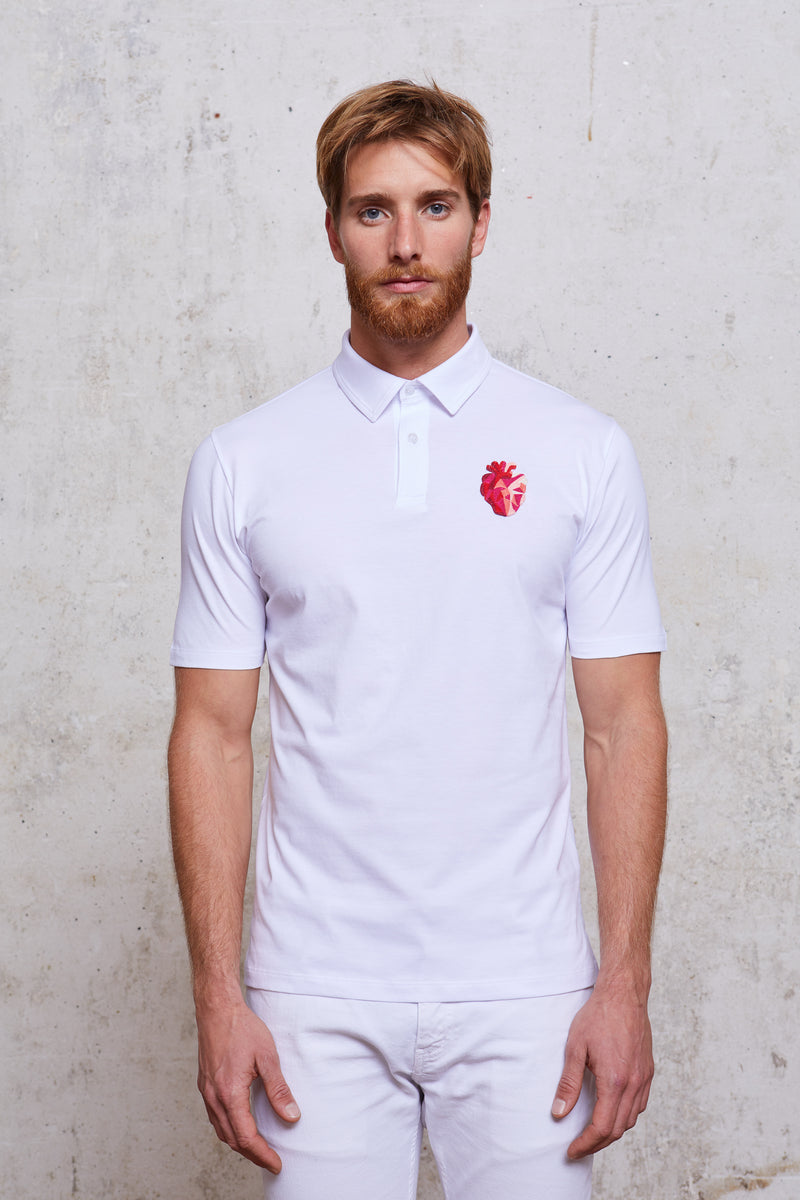 Style#25-MenPolo-WH-Front