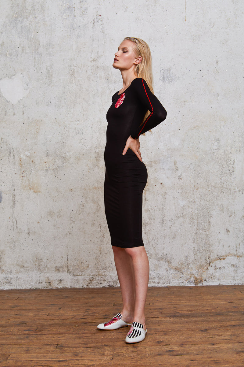 Style#15-TightDress-BL-Profile