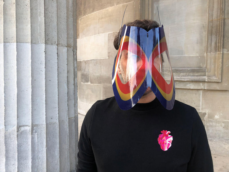 Art Rainbow insect mask protection