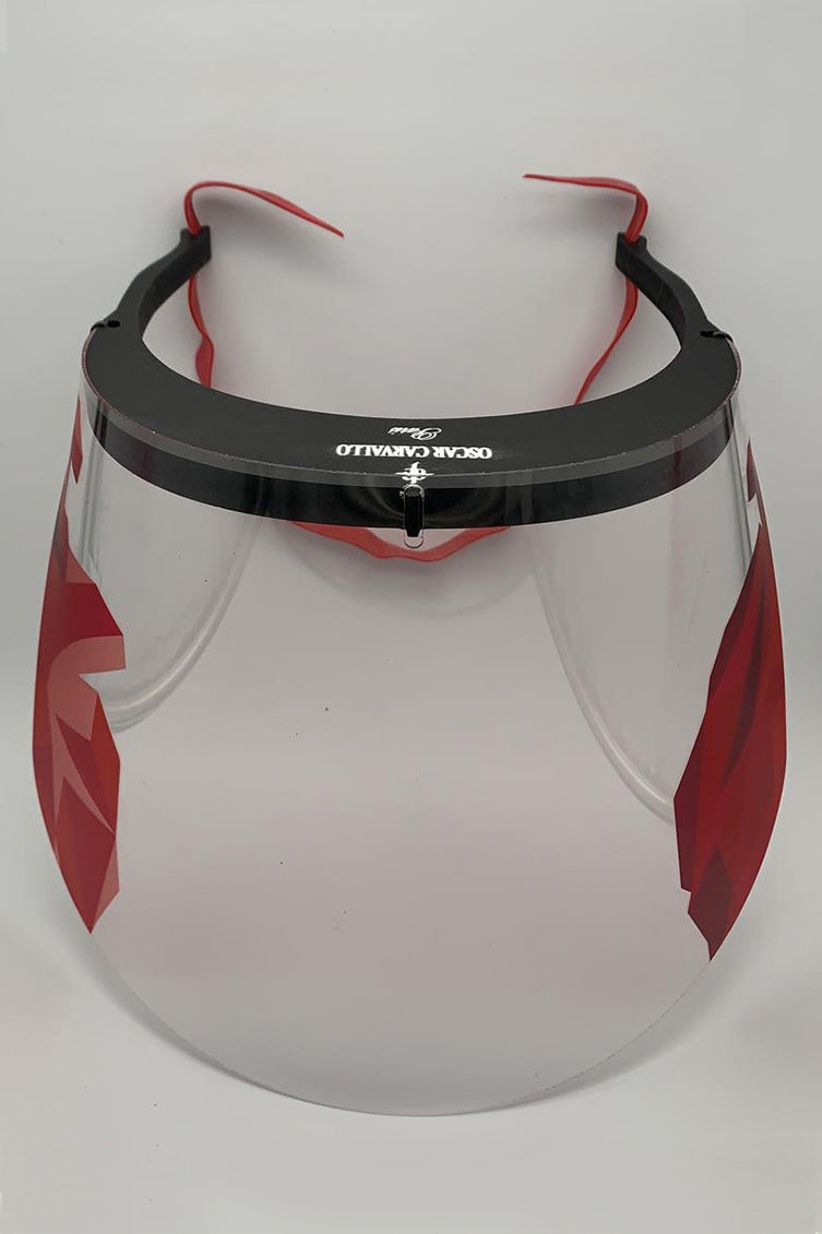 FREE Face Shield - Red