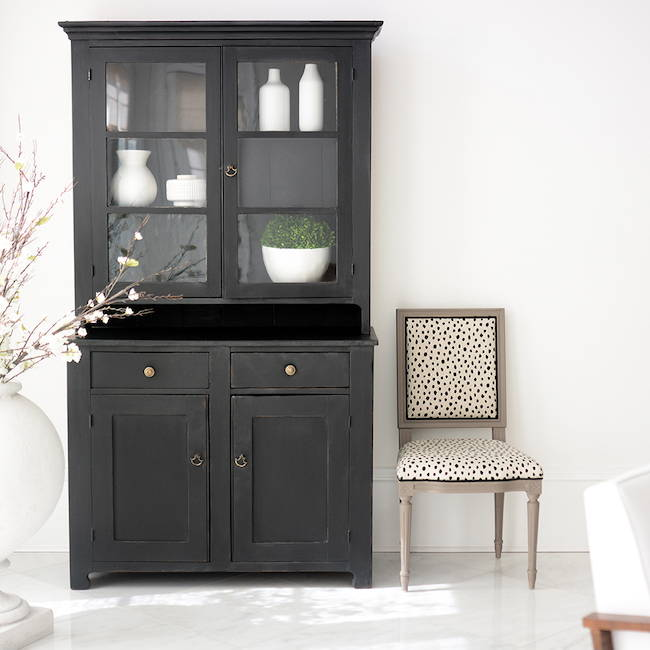 Noir Distressed Hutch | Get the look with Jolie Products
