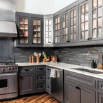 Charcoal Kitchen Cabinets | Get the look with Jolie Paint