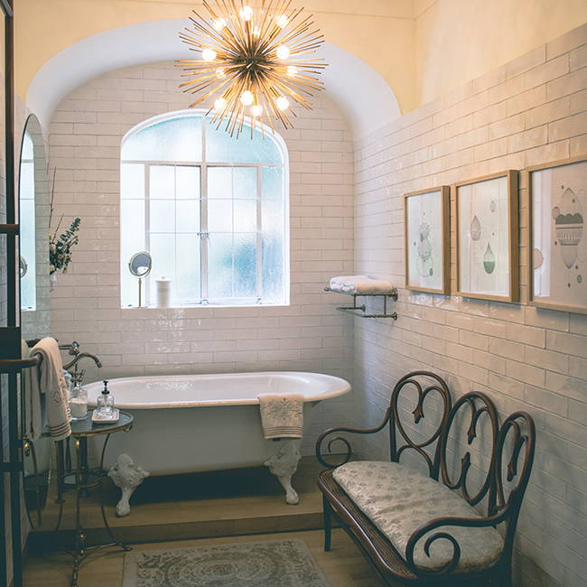 Cozy Bathroom | Get the look with Jolie products
