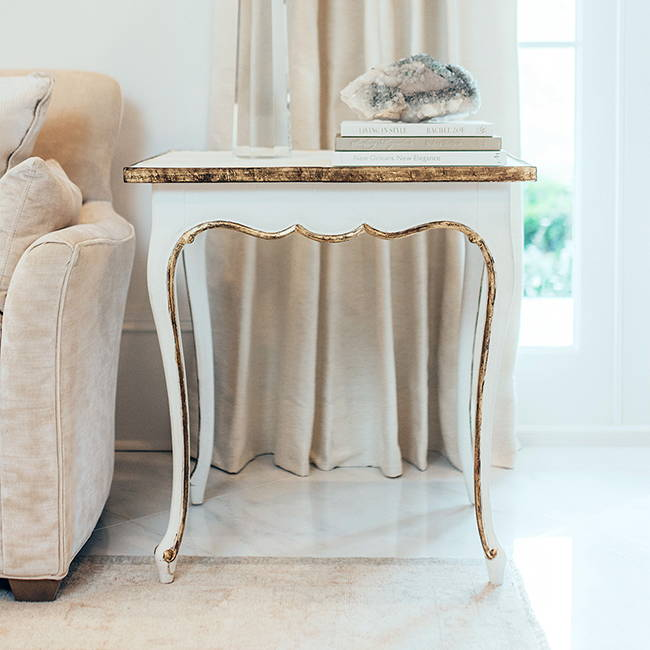 Traditional End Table | Get the Look with Jolie products