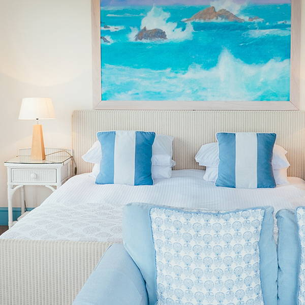 Coastal Bedroom | Get the look with Jolie products