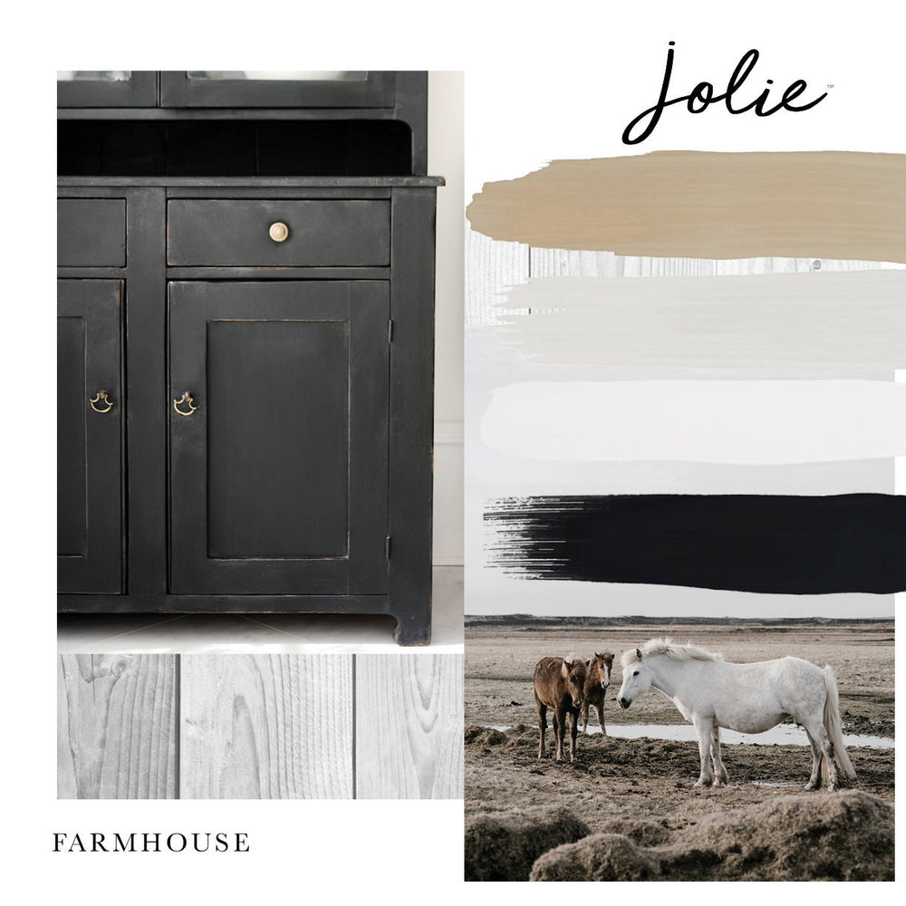 Creating a Farmhouse Look with Jolie Paint