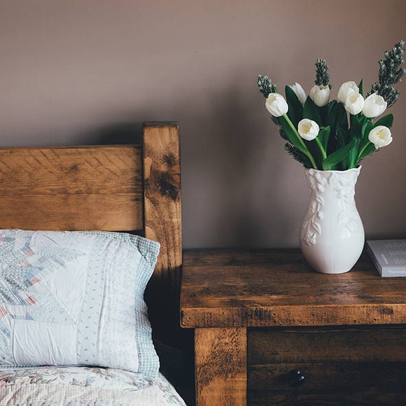 Farmhouse Bedroom | Get the look with Jolie products