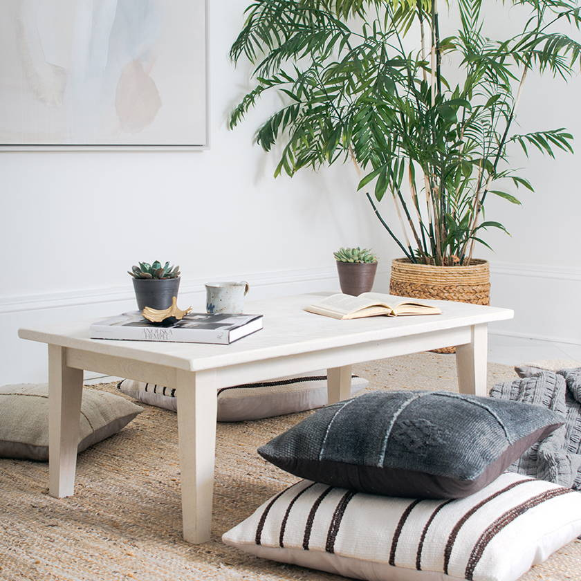 A Boho Coffee Table Makeover