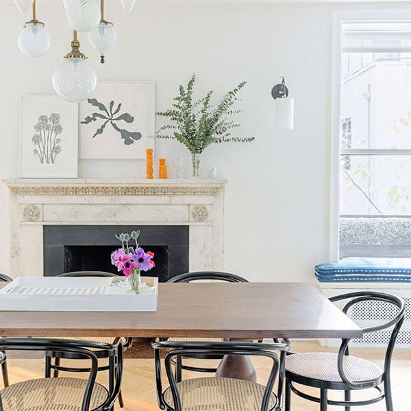 Transitional Dining Room | Get the look with Jolie products