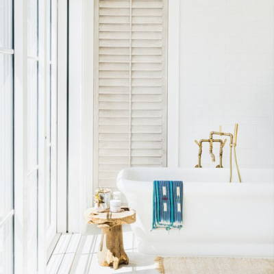 Coastal Bathroom | Get the look with Jolie products