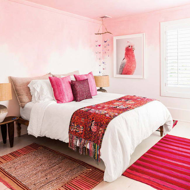 Boho Red Bedroom | Get the look with Jolie products