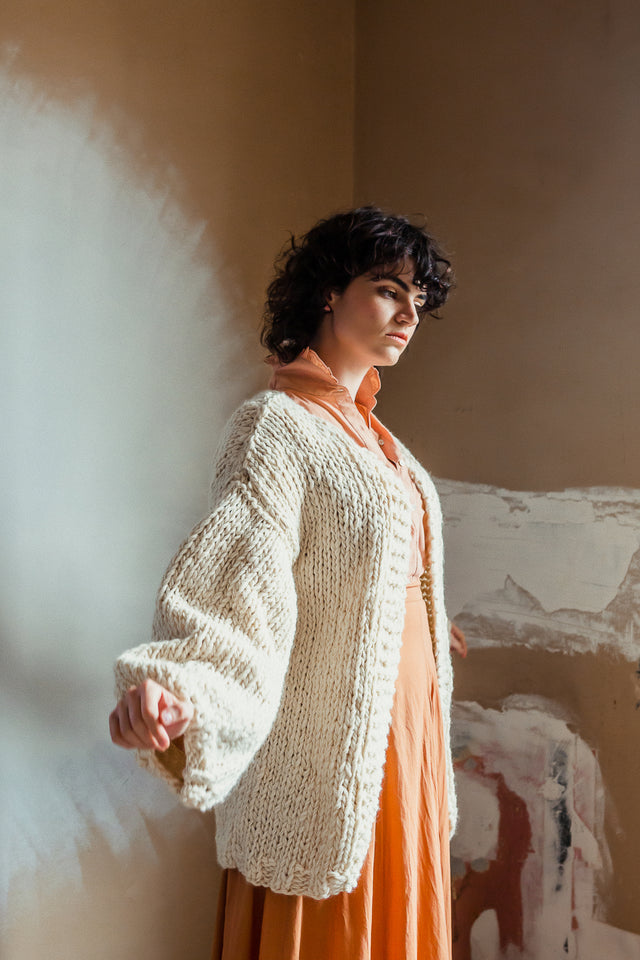 Ruth Cardigan Natural