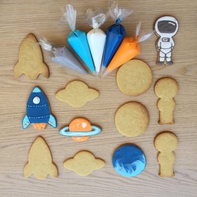 Rocket into Space Cookie Decorating Kit
