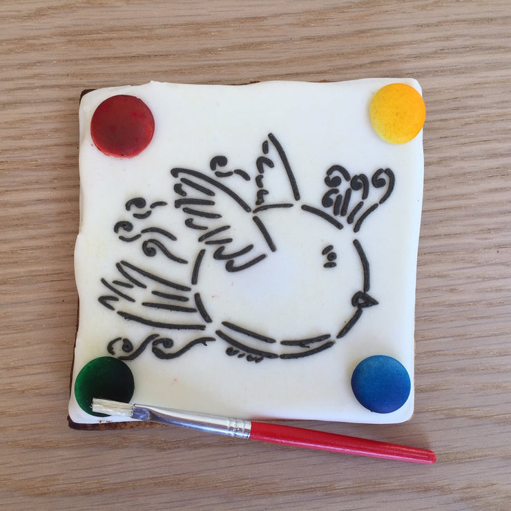Paint Your Own Cookie - Flying Birdie