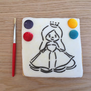 Paint Your Own Cookie - Princess