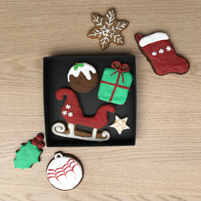 Christmas Cookie Gift Box (Small)