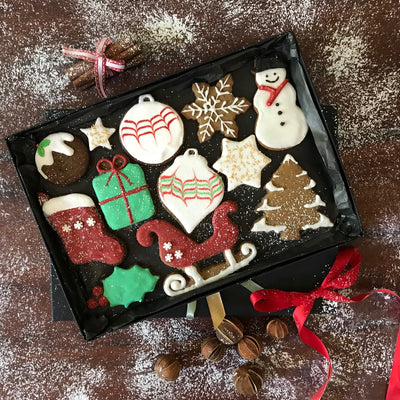 Christmas Cookie Gift Box (Large)