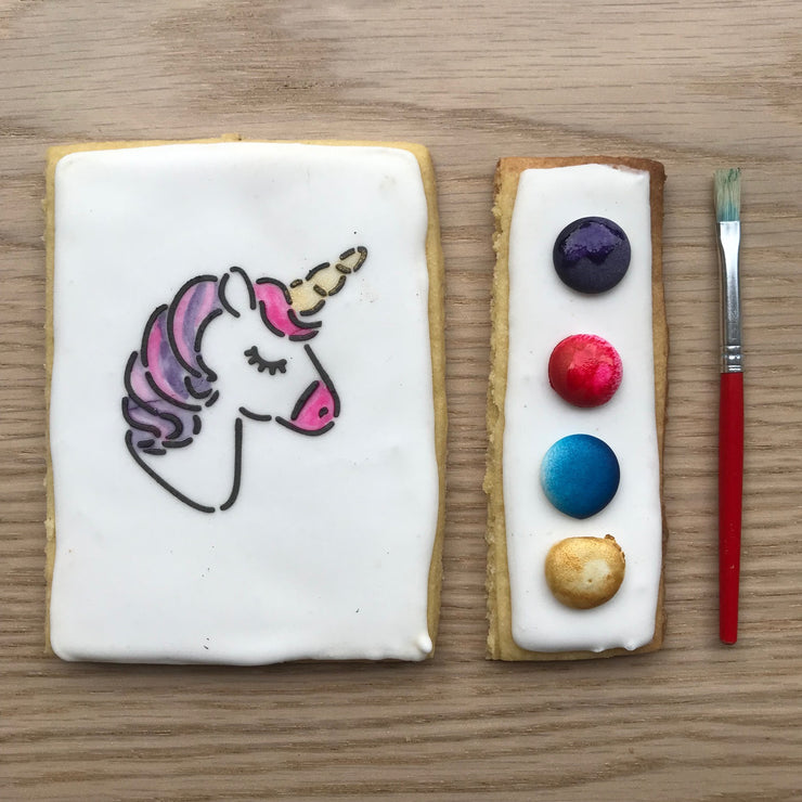 Paint-Your-Own Unicorn Cookies (6 pack)